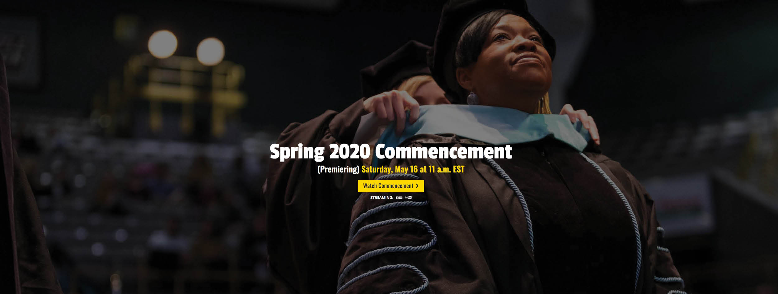 Commencement Live Stream