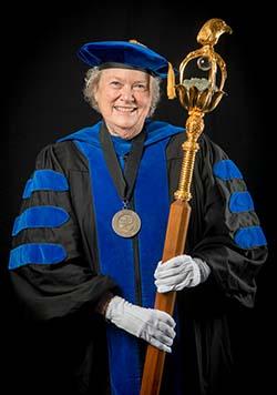 Nina-Jo Moore PhD Mace Bearer 2