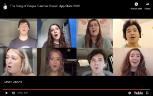 Cast of App State's Spring Awakening Share Performance Virtually