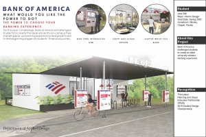 Banking Re-imagined with a bike lane, and coffee