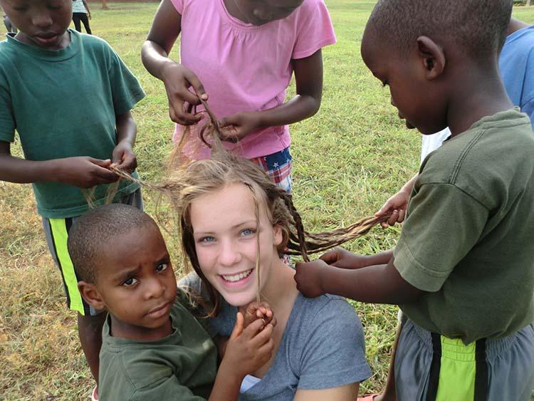 Tyree in Rwanda