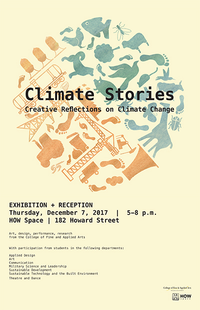 climate stories poster