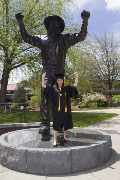 Graduating student