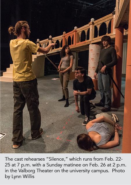 Silence rehearsal 3