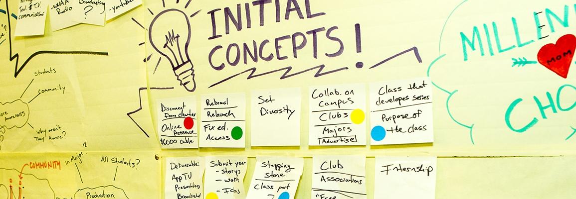 AppLab concept board