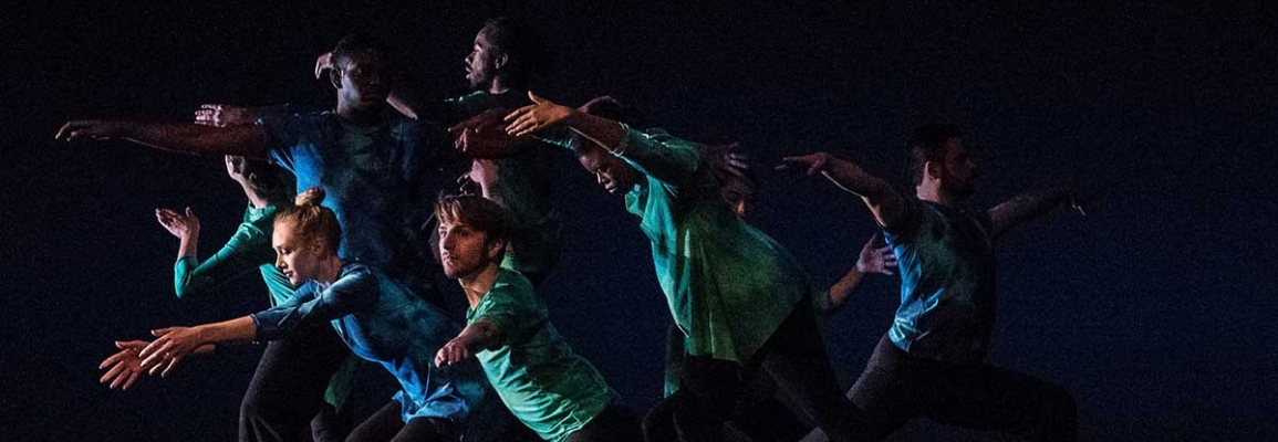 Students perform in the Spring 2016 Appalachian Dance Ensemble