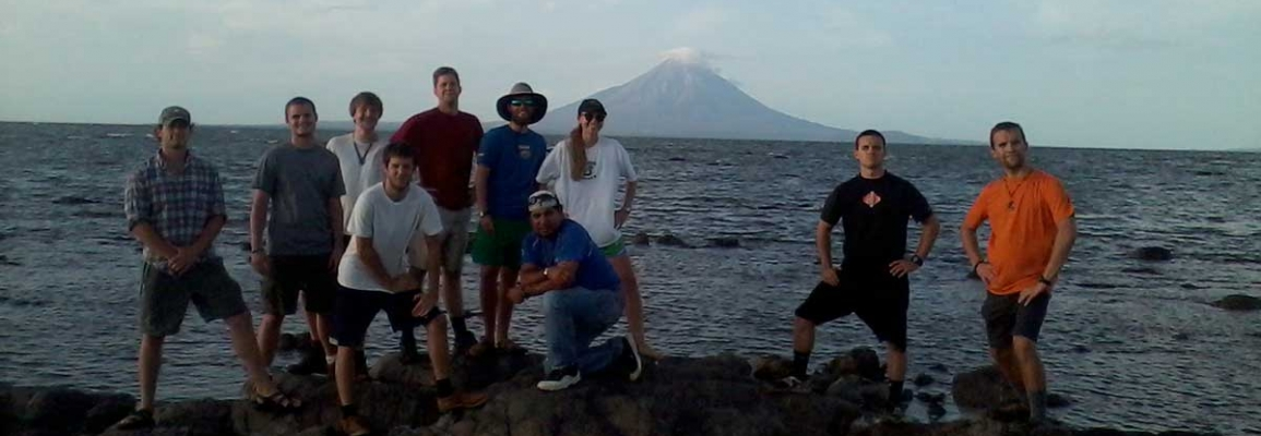 Sustainable Technology and the Built Environment students in Nicaragua