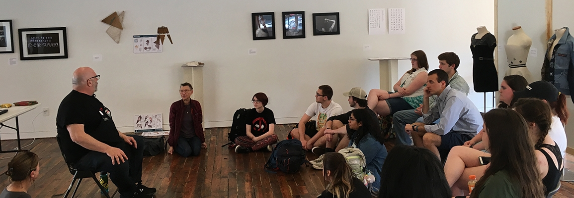 Ed Woodham teaches at HOW Space