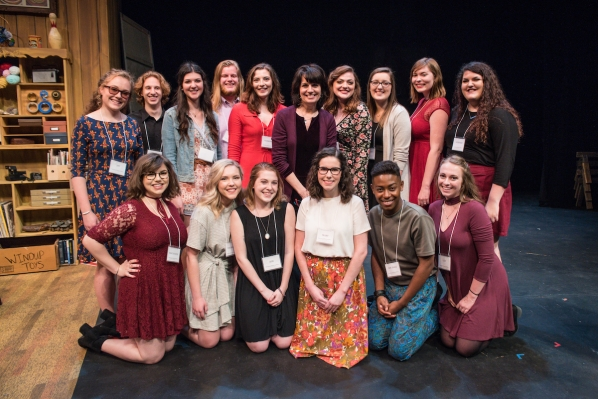App State students with Beth Leavel