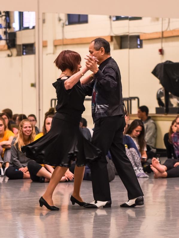 Sandi Finci Solomon and partner Tony Luis