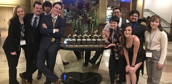 Students attend awards ceremony