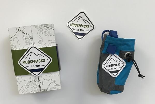 Moosepacks packaging
