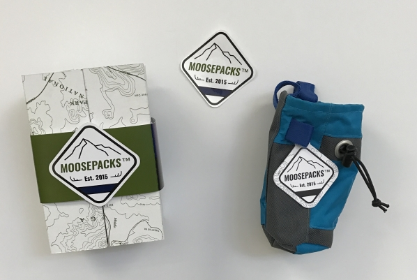 Moosepacks packaging