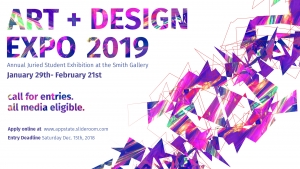 Art + Design expo banner