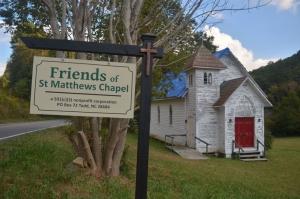 St. Matthews Chapel in Todd, NC