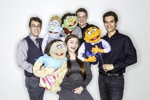"The cast of ""Avenue Q"""