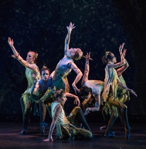 Students perform in the Appalachian Dance Ensemble