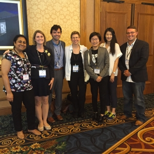Communication faculty at the AEJMC conference