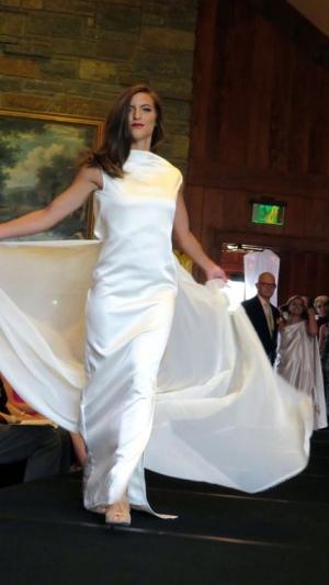 Dress designed by App student Jessica Lancaster