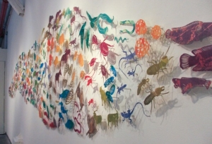 """Advance"" artwork by April Flanders"