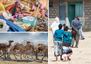 Photo collage of Ethiopia