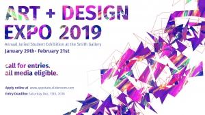 Art + Design expo banner