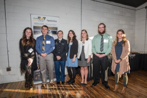 Student presenters at the Celebration of Innovation