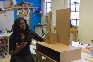 Sheilla Sanon explains her capstone project