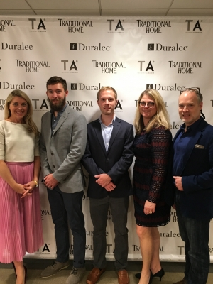 Tori Mellot (Competition Juror and Traditional Home Magazine Contributing Editor), Ben Bridges (2nd Place), John Barton (3rd Place),Jill Waage (Traditional Home Magazine Editor-in-Chief), Brian F. Davies (Applied Design Chair).