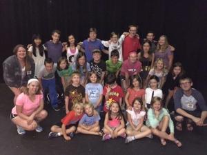 2016 Cre8tive Drama Day Camp participants