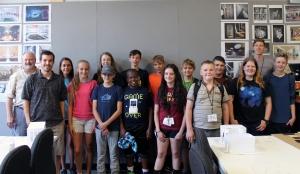 Students at the inaugural design camp