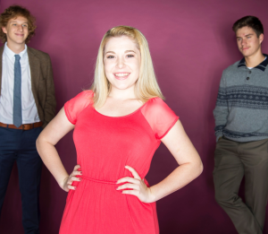 Student actors in AMTE's production of Legally Blonde: The Musical