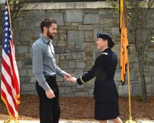 Appalachian's ROTC Program Commissions 19 New Officers