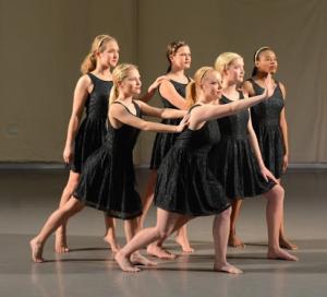 Momentum dance club rehearsal