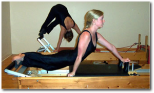 Pilates in action
