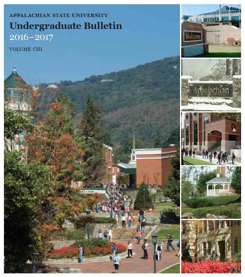 Undergrad Bulletin 2016